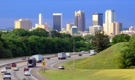 Orizzonte di Birmingham, Alabama Fotografia Stock