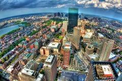 Orizzonte di Boston Immagine Stock