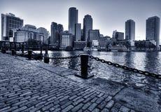 Orizzonte di Boston Fotografie Stock