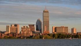 Orizzonte di Boston Immagini Stock