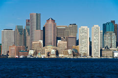 Orizzonte di Boston Immagine Stock