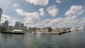 Orizzonte di Boston, Massachusetts, S stock footage