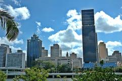 Orizzonte di Brisbane fotografia stock libera da diritti
