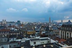 Orizzonte di Bruxelles Fotografia Stock Libera da Diritti