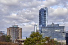 Orizzonte di Buckhead, Atlanta, Georgia immagini stock