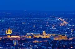 Orizzonte di Budapest, Ungheria Immagine Stock Libera da Diritti