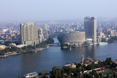 Orizzonte di Cairo Fotografie Stock