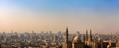 Orizzonte di Cairo islamico Fotografia Stock