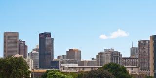 Orizzonte di Cape Town Immagine Stock