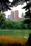 Orizzonte di Central Park Fotografia Stock