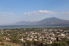Orizzonte di Chapala Fotografia Stock