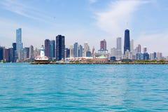 Orizzonte di Chicago Immagini Stock
