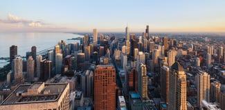 Orizzonte di Chicago Fotografia Stock Libera da Diritti
