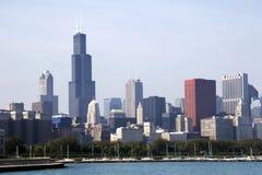 Orizzonte di Chicago SoC03 Fotografie Stock Libere da Diritti