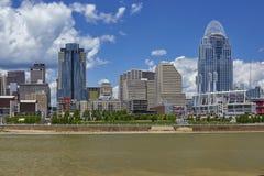 Orizzonte di Cincinnati, Ohio Immagine Stock Libera da Diritti