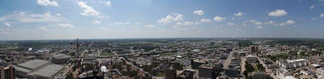 Orizzonte di Città di Oklahoma Fotografie Stock