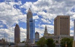 Orizzonte di Cleveland Immagine Stock Libera da Diritti