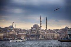 Orizzonte di Costantinopoli Immagine Stock