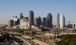 Orizzonte di Dallas il Texas Immagine Stock