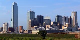 Orizzonte di Dallas il Texas Fotografie Stock Libere da Diritti