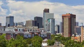 Orizzonte di Denver, Colorado Immagine Stock Libera da Diritti