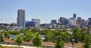 Orizzonte di Denver, Colorado immagini stock