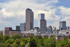 Orizzonte di Denver, Colorado fotografia stock