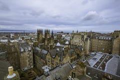 Orizzonte di Edimburgo, Scozia 4/7/12 Fotografia Stock