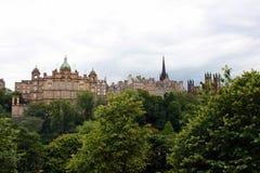 Orizzonte di Edinburgh immagine stock libera da diritti
