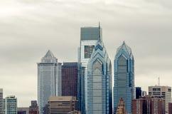 Orizzonte di Filadelfia Fotografia Stock Libera da Diritti