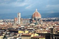 Orizzonte di Firenze Immagini Stock Libere da Diritti