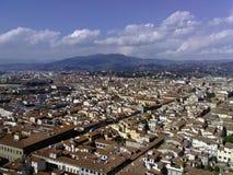 Orizzonte di Firenze Fotografia Stock