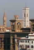 Orizzonte di Firenze in mattina Fotografia Stock Libera da Diritti