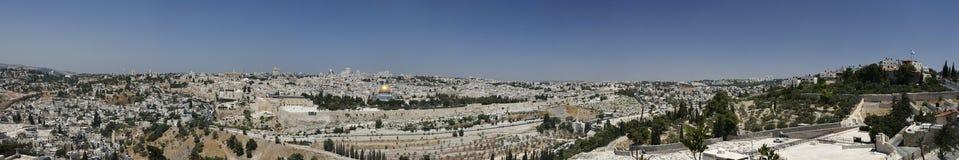 Orizzonte di Gerusalemme Immagine Stock