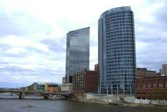 Orizzonte di Grand Rapids fotografia stock libera da diritti