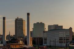 Orizzonte di Harrisburg Fotografia Stock