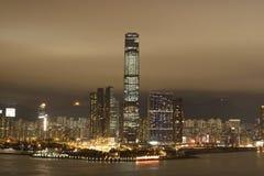 Orizzonte di Hong Kong Immagini Stock Libere da Diritti