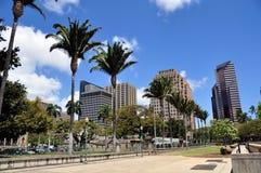 Orizzonte di Honolulu Fotografia Stock Libera da Diritti