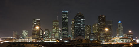 Orizzonte di Houston Immagini Stock