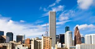 Orizzonte di Houston Fotografia Stock