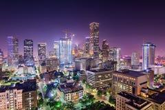 Orizzonte di Houston il Texas Immagine Stock Libera da Diritti
