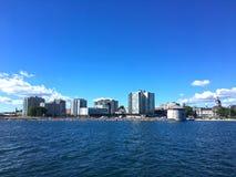 Orizzonte di Kingston, Ontario orientale, Canada immagini stock libere da diritti
