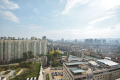 Orizzonte di Kunming Fotografie Stock