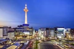 Orizzonte di Kyoto Fotografia Stock Libera da Diritti