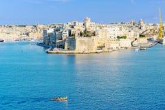 Orizzonte di La Valletta Immagine Stock