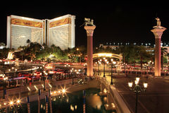 Orizzonte di Las Vegas Fotografie Stock