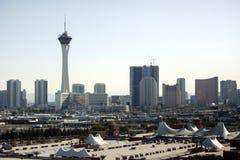 Orizzonte di Las Vegas al giorno fotografia stock