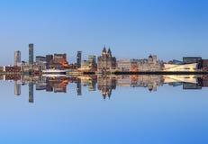 Orizzonte di Liverpool Immagine Stock Libera da Diritti