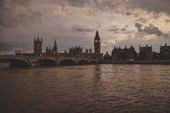 Orizzonte di Londra Fotografia Stock