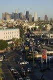 Orizzonte di Los Angeles immagini stock